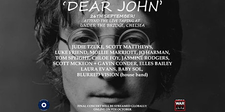 3rd Annual Dear John Concert For War Child UK tickets