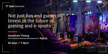 Not just fun and games: Invest in the future of gaming and e-sports tickets