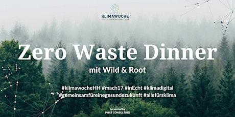 20.09.2021 - Online Zero Waste Dinner zur Hamburger Klimawoche by PHAT biglietti