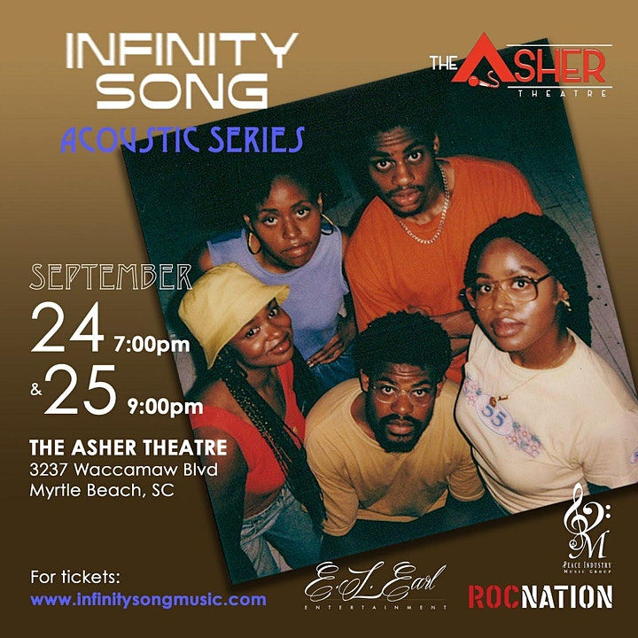 Infinity Song: The Acoustic Series- 9/24 Myrtle Beach, SC image