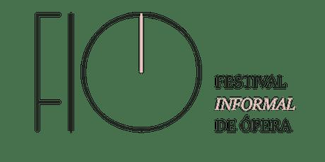 Ópera para quê? - Mesa-redonda - FIO: festival informal de ópera bilhetes