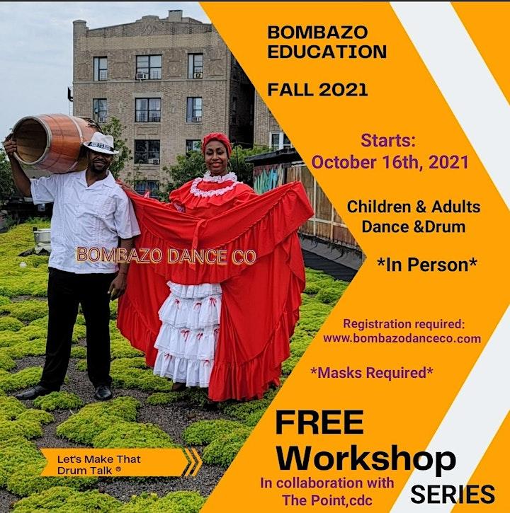 FREE BOMBA DANCE CLASS Fall 2021 image