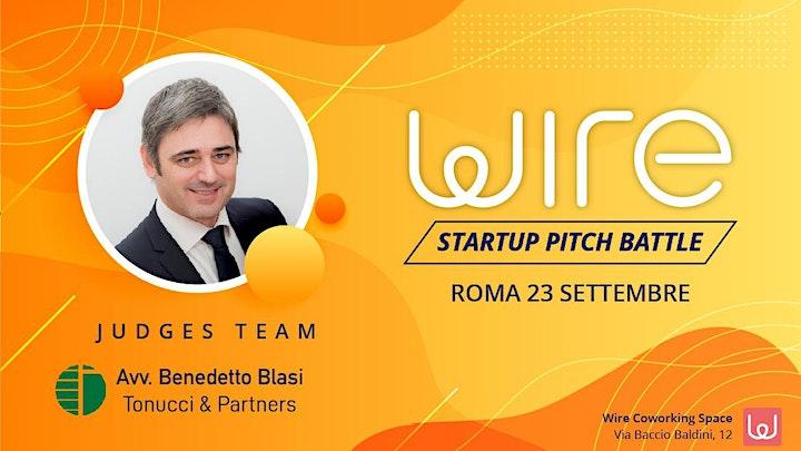 Immagine Wire Startup Pitch Battle 2021