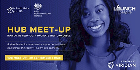 How Do We Help Youth To Create Their Own Jobs? Launch League Hub Meet-up tickets