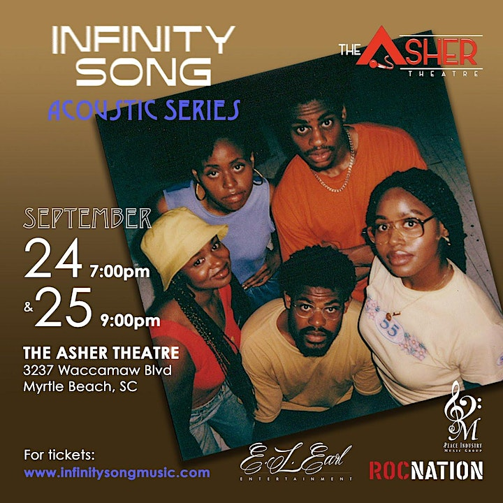 Infinity Song: The Acoustic Series- 9/25 Myrtle Beach, SC image