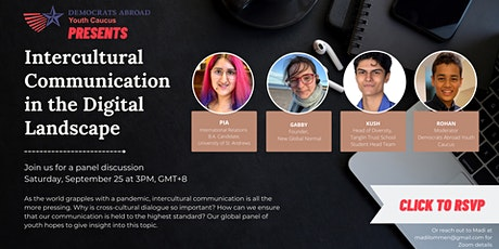 DALC Youth Caucus: Intercultural Communication in the Digital Landscape biglietti