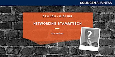 Networking Stammtisch - November Tickets