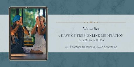 FREE MEDITATION & YOGA NIDRA Tickets