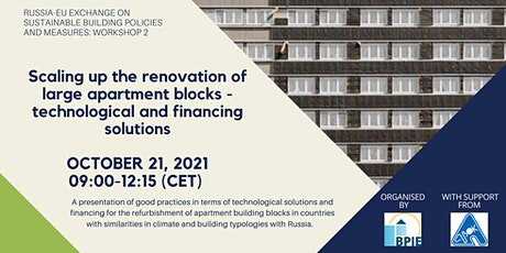 EU-Russia exchange on sustainable building policies and measures tickets