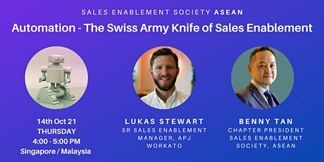 AUTOMATION - The Swiss Army Knife of Sales Enablement entradas