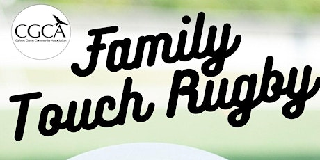 Family Touch Rugby  - Sunday 3rd October tickets