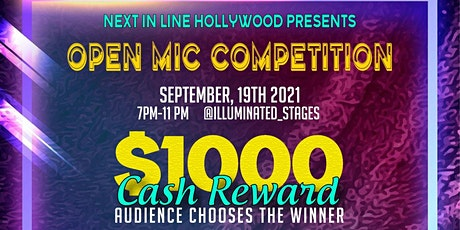 $1000 Open Mic Competition  Special Guest IndikaSam & Chxpo 9/19/21 tickets
