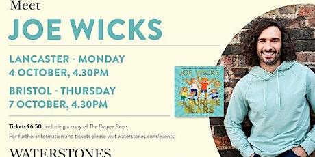 Meet Joe Wicks at Waterstones Bristol tickets