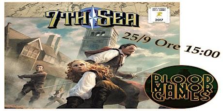 Sessione GDR di 7th Sea - Andrea di Blood Manor Games al Giocacon 2021 biglietti