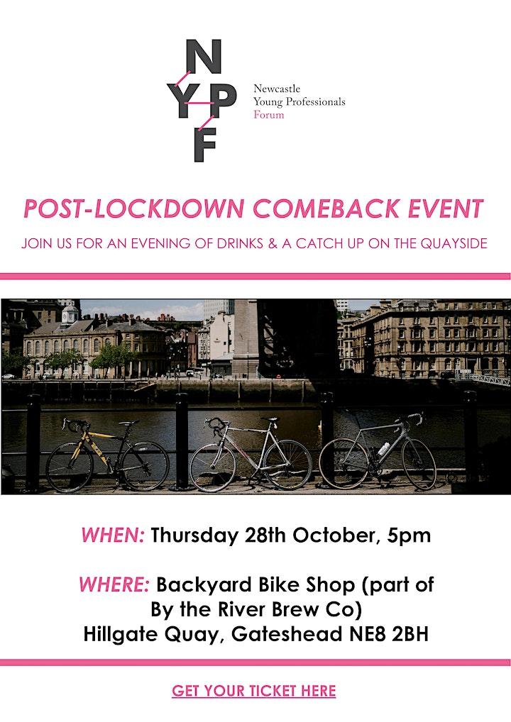 Post-Lockdown Comeback Event image