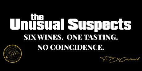 The Unusual Suspects Wine Tasting tickets