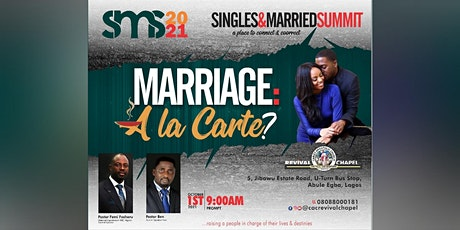 SINGLES & MARRIED SUMMIT SMS2021 tickets