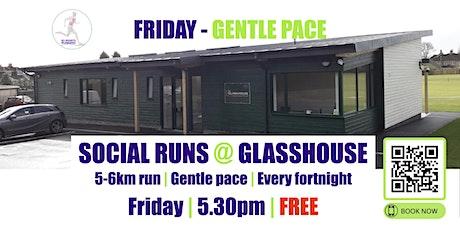 FRIDAY Gentle Social Run @ Glasshouse - 19th November - 5.30pm tickets