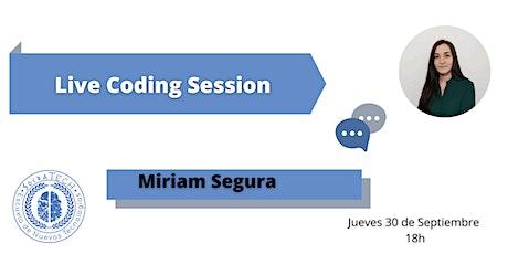 Live Coding Session: Aprender a maquetar nuestro CV utilizando HTML5 y CSS3 entradas