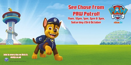 See Chase from PAW Patrol! tickets