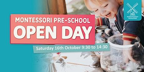 Windmill Montessori  Nursery School Open Day - 16th October tickets
