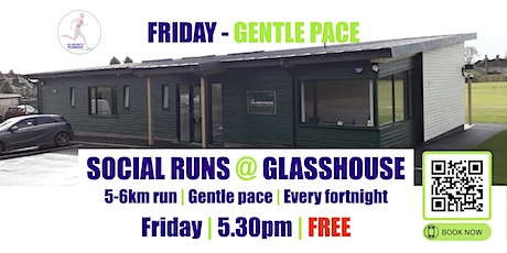 FRIDAY Gentle Social Run @ Glasshouse - 17th December - 5.30pm tickets