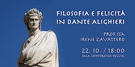 Filosofia e felicità in Dante Alighieri tickets