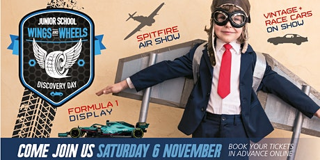 Wings & Wheels Junior Discovery Day tickets
