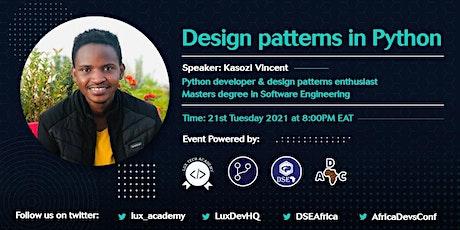 Design Patterns in Python Tickets