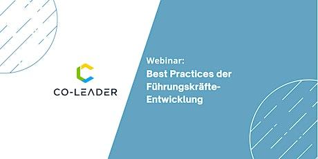 Webinar: Best Practices der Führungskräfte-Entwicklung Tickets