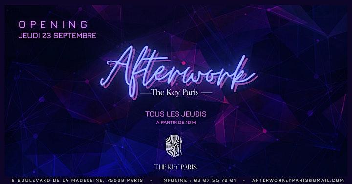 Image pour Afterwork The Key Paris