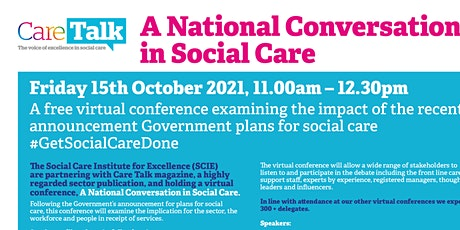 A National Conversation in Social Care tickets