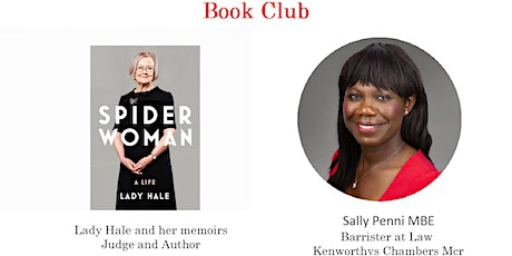 Women in the Law UK Book and Theatre Club - Lady Hale tickets