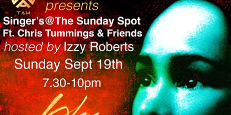 Singers @ Sunday Spot: Hosted by Izzy Roberts tickets