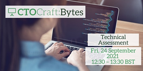 CTO Craft Bytes - Technical Assessment tickets