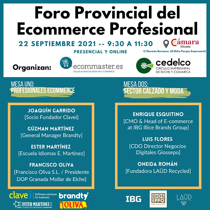 Imagen de Foro Provincial del Ecommerce Profesional Ecommaster