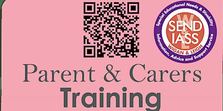 SENDIASS - Parent/Carer Training - What are Annual reviews? tickets