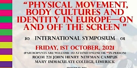 Physical Movement, Body Cultures and Identity in Europe tickets