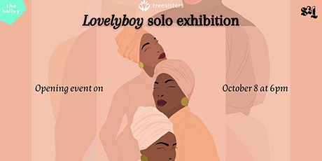 Lovelyboy solo exhibition launch party at the halley tickets