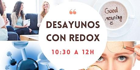 8 nov: DESAYUNOS con REDOX entradas
