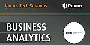 CANCELADO! Tech Sessions: Lançamento do programa IIBA...