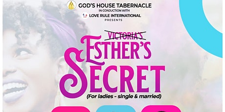 Esther's Secret tickets