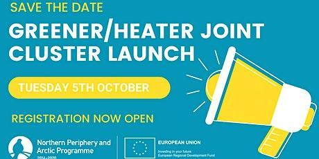 NPA Interreg GREENER & HEATER Joint Cluster Launch tickets