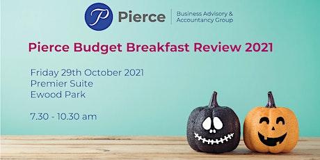 Pierce Budget Breakfast Review 2021 tickets