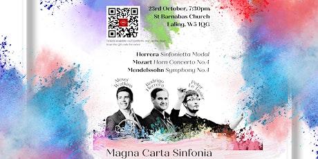 Magna Carta Sinfonia: Alexei Watkins plays Mozart Horn Concerto No.4 tickets
