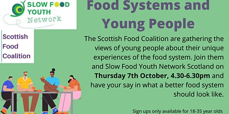 Food Systems and Young People tickets