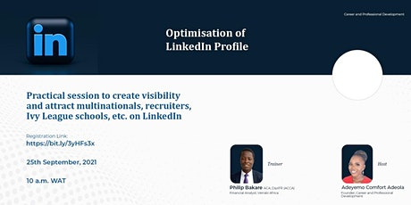 Optimisation of LinkedIn Profile tickets