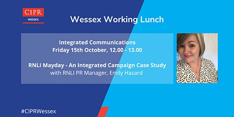CIPR Wessex Working Lunch - Integrated Communications tickets