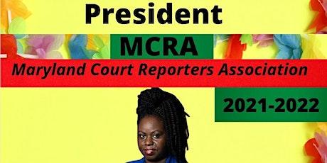 (Virtual) MCRA's AFRICAN-AMERICAN PRESIDENT CELEBRATION (MEMBERS) tickets