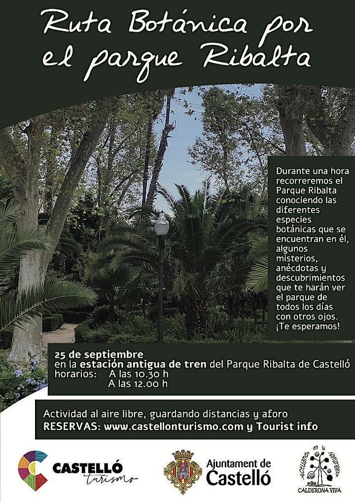 Imagen de Ruta Botánica por el Parque Ribalta de Castelló